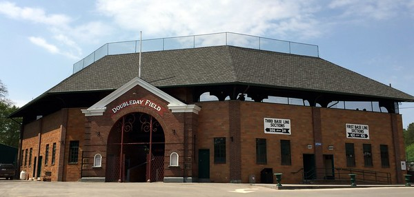 Doubleday Field in Cooperstown, New York
