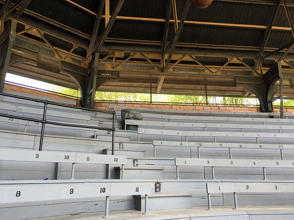 Bleachers at Doubleday Field