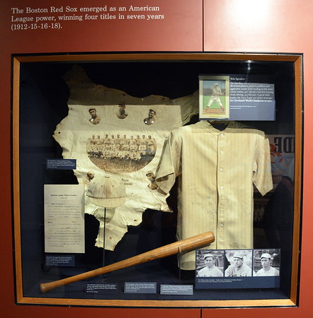 Boston Red Sox Display at  the National Baseball Hall of Fame & Museum